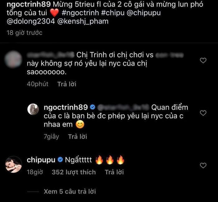 Bị cảnh báo khi chơi thân thiết với Chi Pu, Ngọc Trinh nhắn gửi anti-fan với quan điểm cực cởi mở Ảnh 2