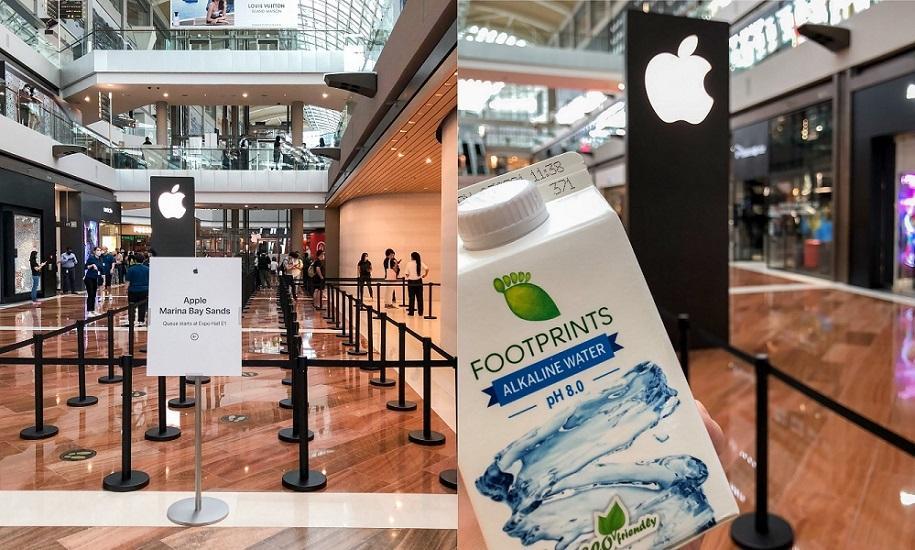 Bên trong Apple Store nổi trên vịnh ở Singapore Ảnh 8