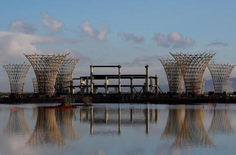 Hình ảnh sân bay 13 tỷ USD bị bỏ hoang ở thủ đô Mexico Ảnh 2