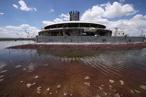 Hình ảnh sân bay 13 tỷ USD bị bỏ hoang ở thủ đô Mexico Ảnh 3