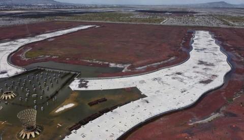 Hình ảnh sân bay 13 tỷ USD bị bỏ hoang ở thủ đô Mexico Ảnh 8