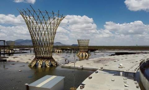 Hình ảnh sân bay 13 tỷ USD bị bỏ hoang ở thủ đô Mexico Ảnh 7