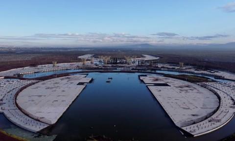 Hình ảnh sân bay 13 tỷ USD bị bỏ hoang ở thủ đô Mexico Ảnh 1