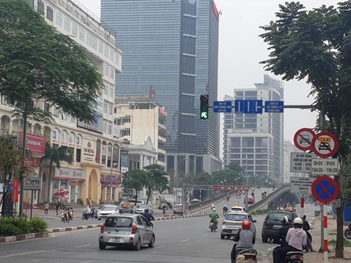 Hà Nội: Khôi phục biển cấm xe hợp đồng trên 10 tuyến phố từ ngày 15-9 Ảnh 1