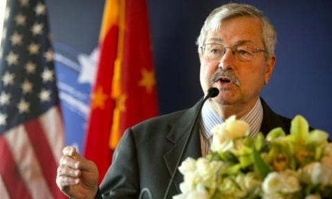 Đại sứ Mỹ tại Trung Quốc rời chức vụ giữa căng thẳng Ảnh 1