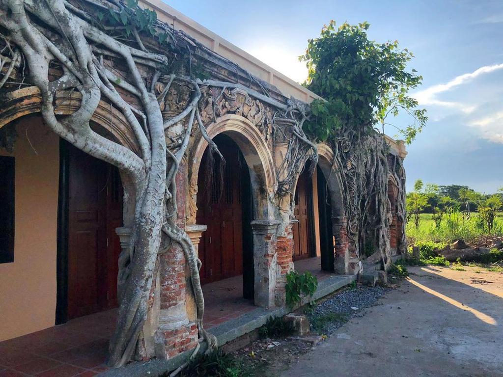Ngôi đình hơn 100 tuổi nằm dưới bộ rễ cây bồ đề Ảnh 8