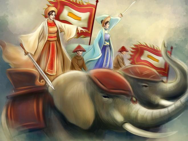Chân dung các nữ tướng nổi tiếng trong sử Việt Ảnh 1