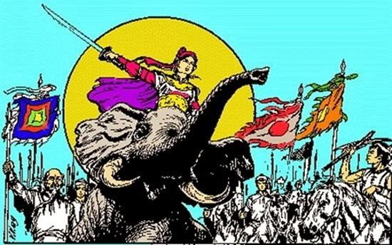 Chân dung các nữ tướng nổi tiếng trong sử Việt Ảnh 9
