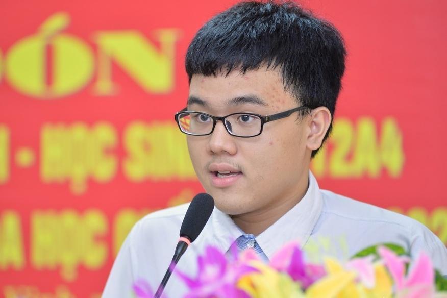 Nam sinh Nghệ An giành HCV quốc tế được thưởng gần 90 triệu đồng Ảnh 1