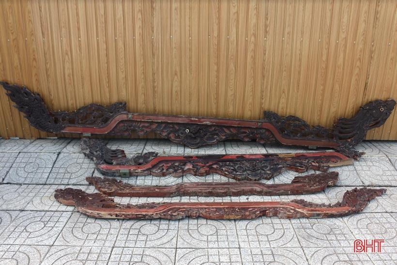 Nhiều cổ vật về lễ hội cầu ngư, tín ngưỡng thờ thần được hiến tặng Bảo tàng Hà Tĩnh Ảnh 1