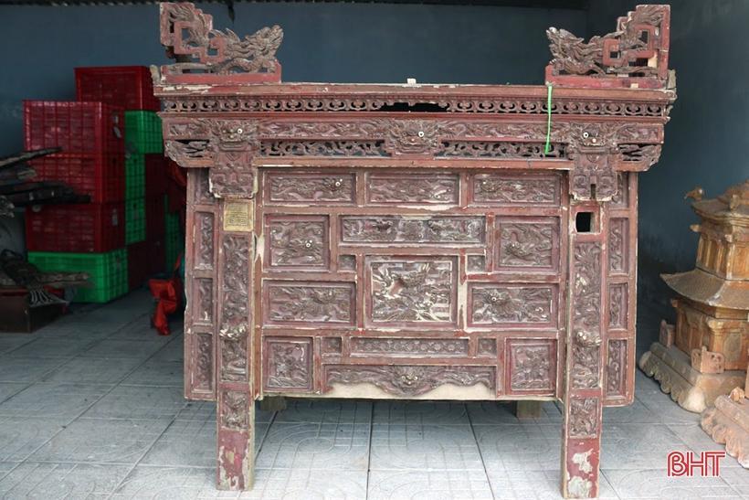 Nhiều cổ vật về lễ hội cầu ngư, tín ngưỡng thờ thần được hiến tặng Bảo tàng Hà Tĩnh Ảnh 4