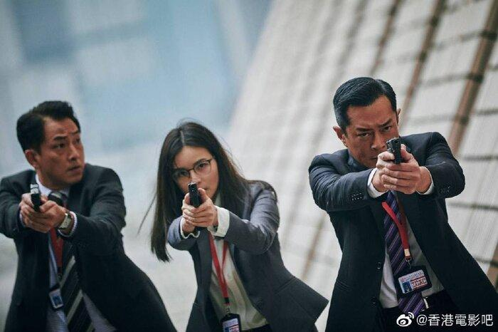 Phim điện ảnh 'G Phong bạo' của Cổ Thiên Lạc, Trương Trí Lâm và dàn sao TVB khác tung ảnh mới cực chất Ảnh 2