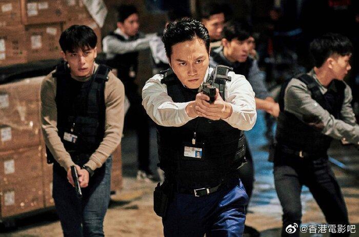 Phim điện ảnh 'G Phong bạo' của Cổ Thiên Lạc, Trương Trí Lâm và dàn sao TVB khác tung ảnh mới cực chất Ảnh 1