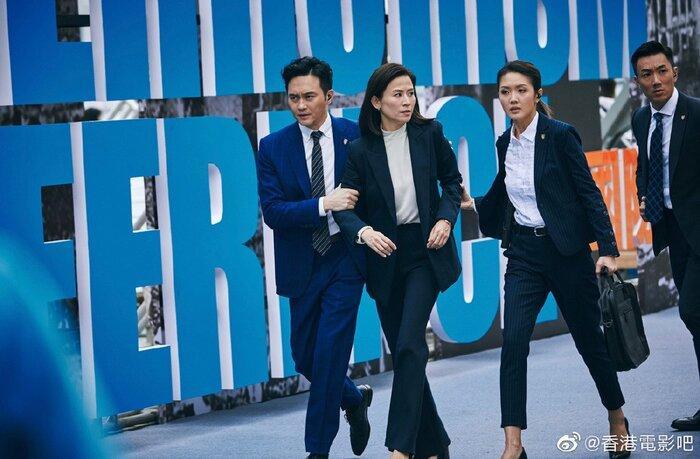 Phim điện ảnh 'G Phong bạo' của Cổ Thiên Lạc, Trương Trí Lâm và dàn sao TVB khác tung ảnh mới cực chất Ảnh 3