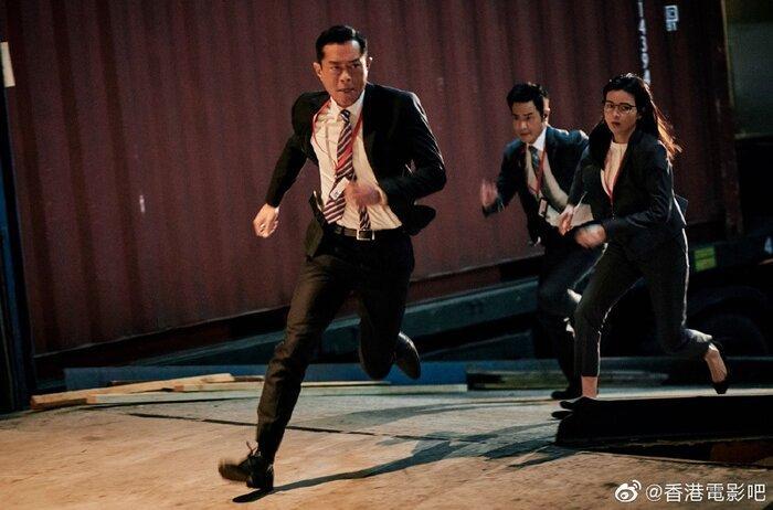 Phim điện ảnh 'G Phong bạo' của Cổ Thiên Lạc, Trương Trí Lâm và dàn sao TVB khác tung ảnh mới cực chất Ảnh 4