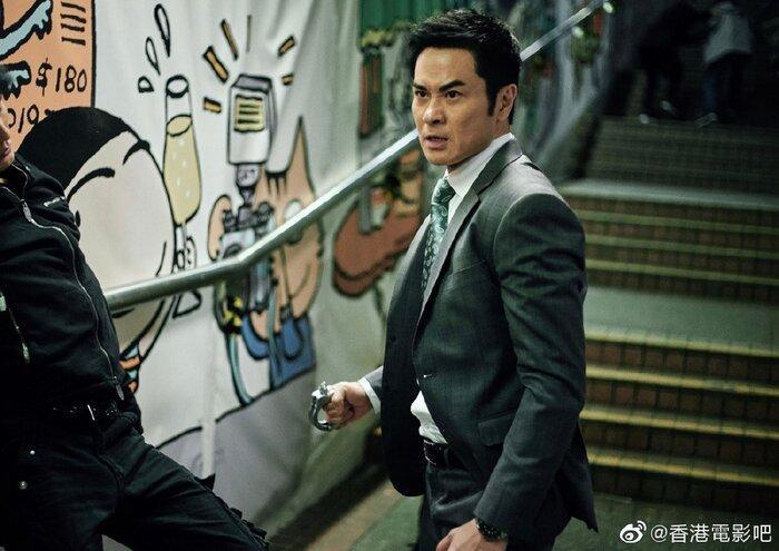 Phim điện ảnh 'G Phong bạo' của Cổ Thiên Lạc, Trương Trí Lâm và dàn sao TVB khác tung ảnh mới cực chất Ảnh 6