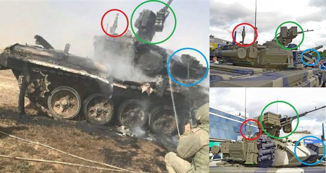 Hi hữu: Xe chiến đấu bộ binh BMP-3 Nga khai hỏa tên lửa 'đánh quỵ' xe tăng T-90 ở Syria? Ảnh 1