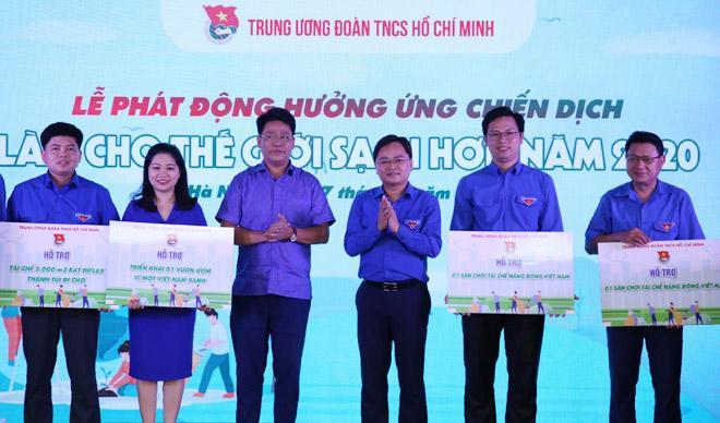 Phát động chiến dịch ''Làm cho thế giới sạch hơn'' năm 2020 Ảnh 1
