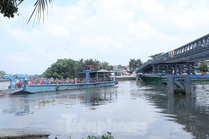 Cận cảnh cây cầu thay thế bến phà cuối cùng trong nội thành Sài Gòn Ảnh 1