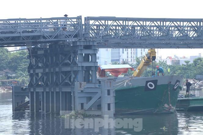 Cận cảnh cây cầu thay thế bến phà cuối cùng trong nội thành Sài Gòn Ảnh 4