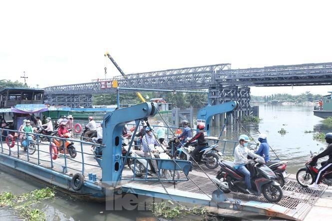 Cận cảnh cây cầu thay thế bến phà cuối cùng trong nội thành Sài Gòn Ảnh 9