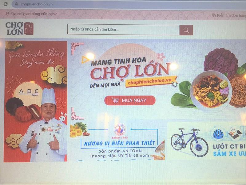 Lần đầu mở 'chợ phiên online' cho tiểu thương Ảnh 2