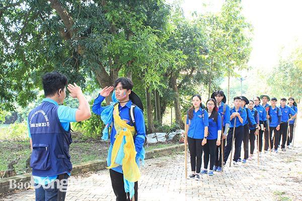 79 trại sinh tham gia trại rèn luyện Hào khí Đồng Nai Ảnh 1