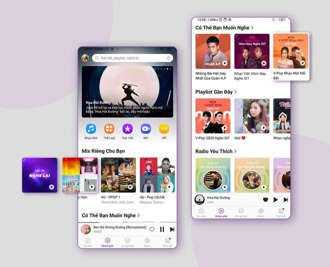 Zing MP3 cập nhật giao diện, ứng dụng AI để tăng trải nghiệm nghe nhạc Ảnh 1