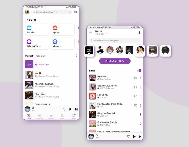 Zing MP3 cập nhật giao diện, ứng dụng AI để tăng trải nghiệm nghe nhạc Ảnh 2