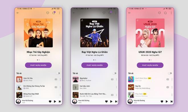 Zing MP3 cập nhật giao diện, ứng dụng AI để tăng trải nghiệm nghe nhạc Ảnh 3