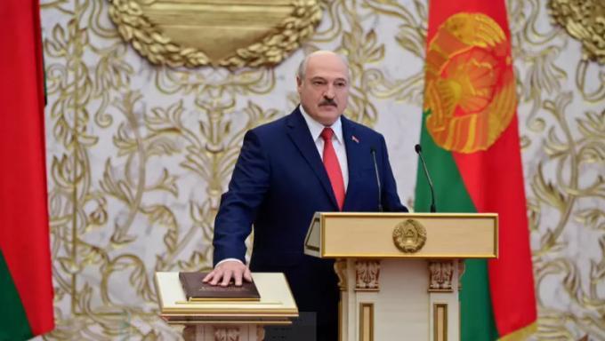 EU và Mỹ không thừa nhận Tổng thống Lukashenko Ảnh 1