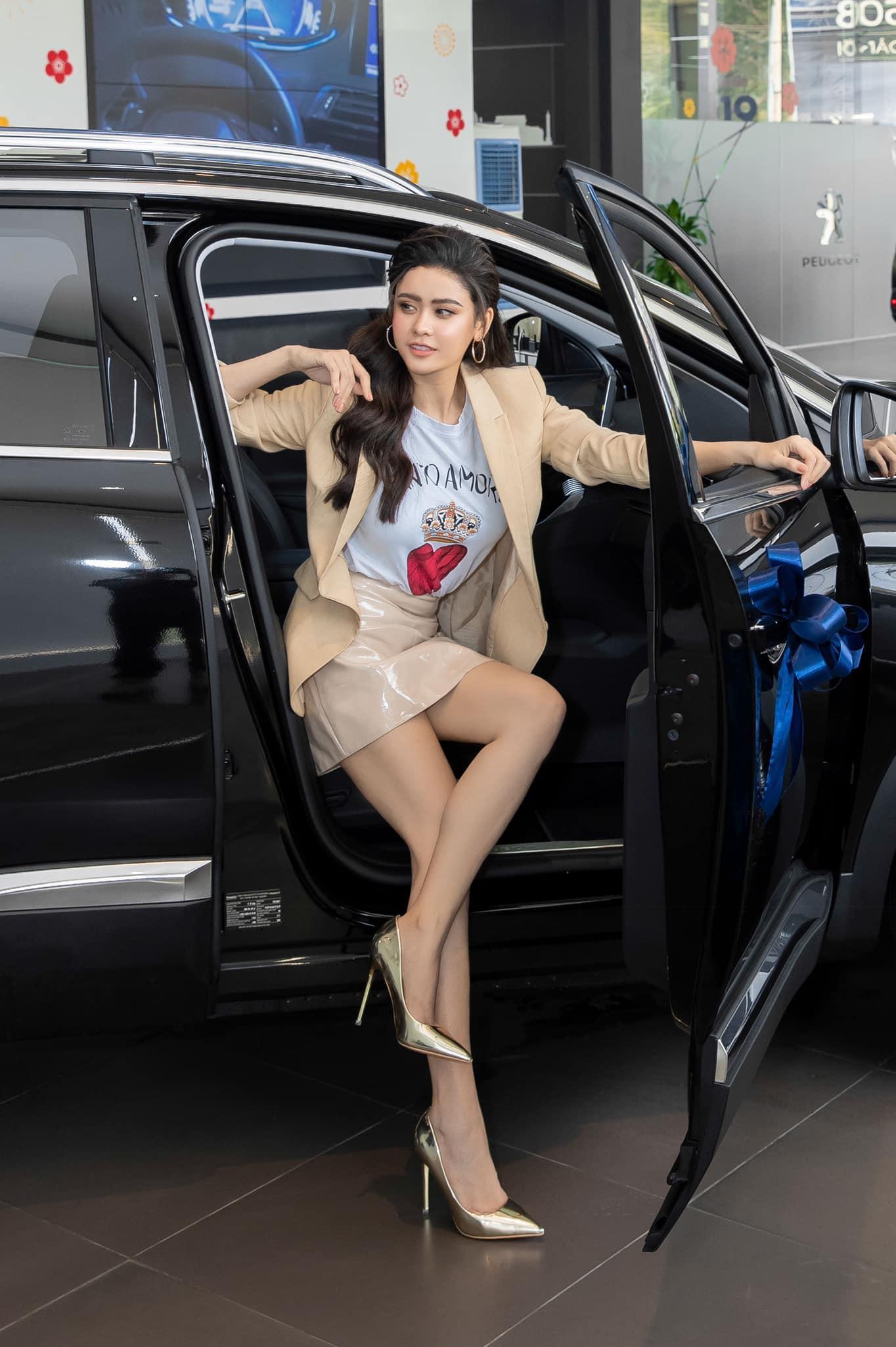 Bóc giá xế hộp Peugeot 3008 tiền tỷ Trương Quỳnh Anh tậu để đưa con đi học Ảnh 2