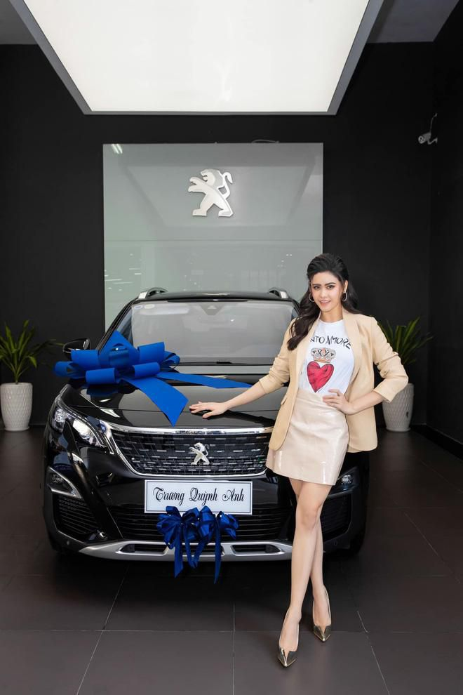 Bóc giá xế hộp Peugeot 3008 tiền tỷ Trương Quỳnh Anh tậu để đưa con đi học Ảnh 1
