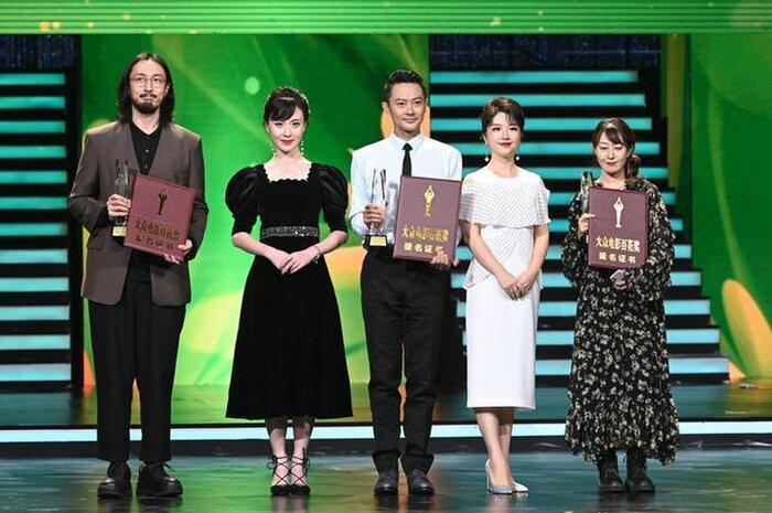 Buổi tuyên dương đề cử của giải Kim Kê Bách Hoa: Dịch Dương Thiên Tỉ cạnh tranh với đàn anh, Dương Tử xinh đẹp rạng ngời Ảnh 2