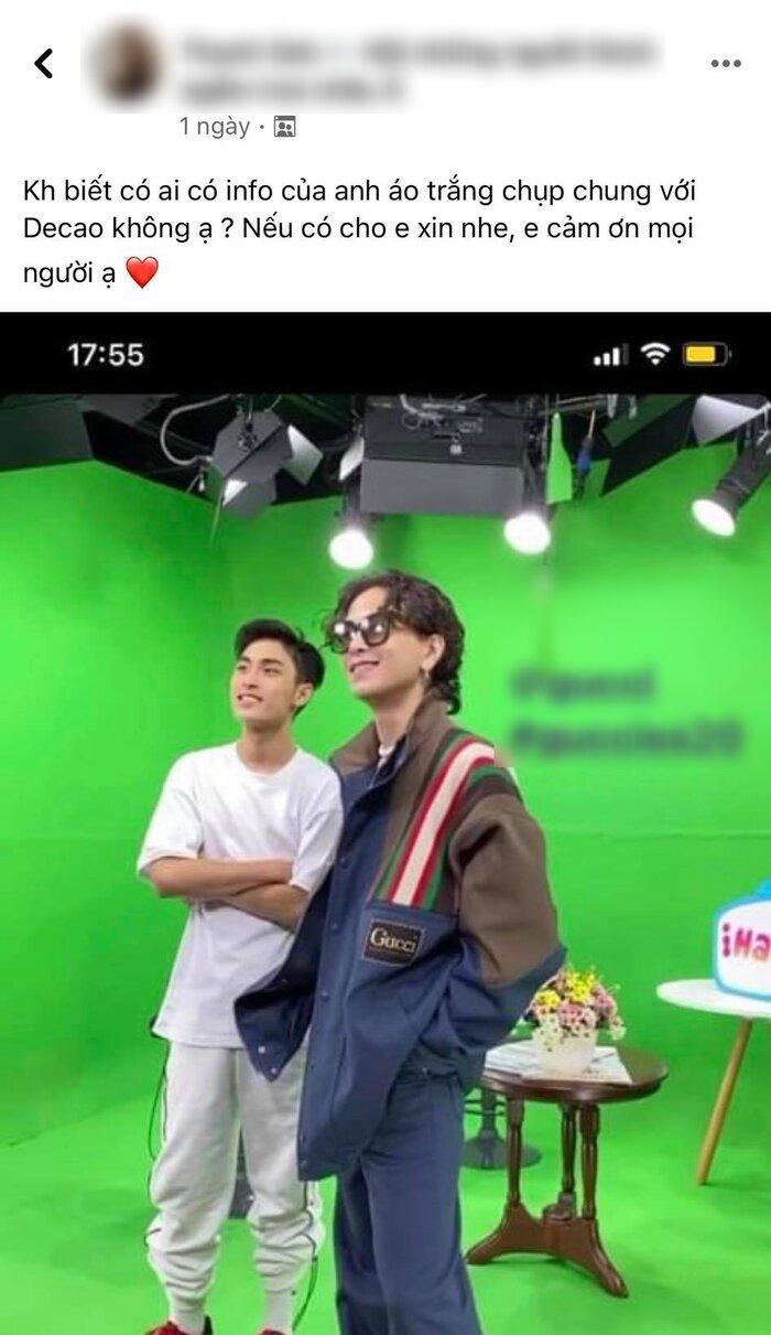 Cư dân mạng đua nhau 'xin info' chàng ca sĩ kiêm rapper từng có kết hợp K-ICM, Decao Ảnh 1