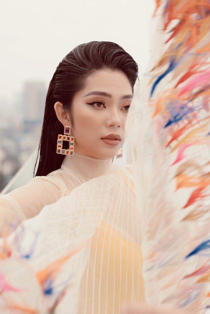 Top 5 Hoa hậu biển Việt Nam khiến fan xuýt soa với bikini nóng bỏng, khoe trọn đường cong 'số đo vàng' Ảnh 6