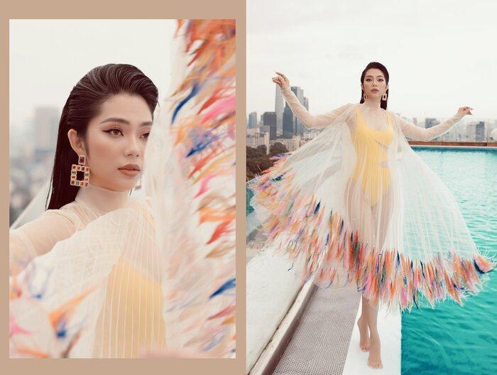 Top 5 Hoa hậu biển Việt Nam khiến fan xuýt soa với bikini nóng bỏng, khoe trọn đường cong 'số đo vàng' Ảnh 1