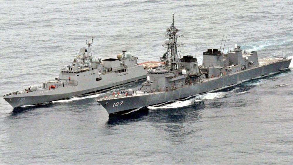 Tập trận hải quân giữa dịch Covid-19, Ấn Độ và Nhật Bản nhấn mạnh hợp tác an ninh hàng hải Ảnh 1