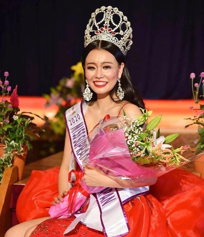 Cô gái 18 tuổi đăng quang Hoa hậu Thế giới Nhật Bản Ảnh 10