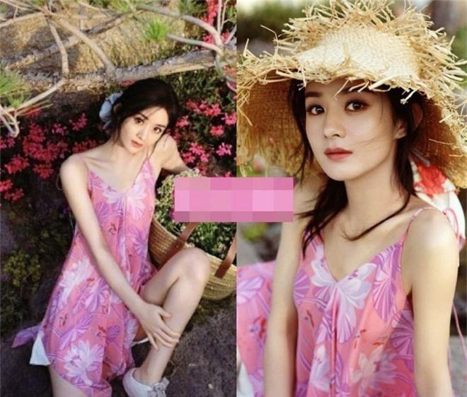 Loạt mỹ nhân Hoa ngữ 'chữa sến' cho váy hồng Ảnh 1