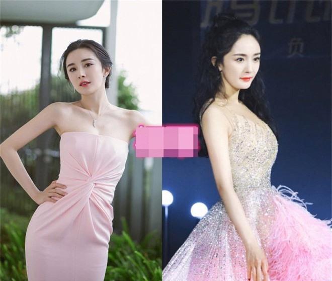 Loạt mỹ nhân Hoa ngữ 'chữa sến' cho váy hồng Ảnh 3