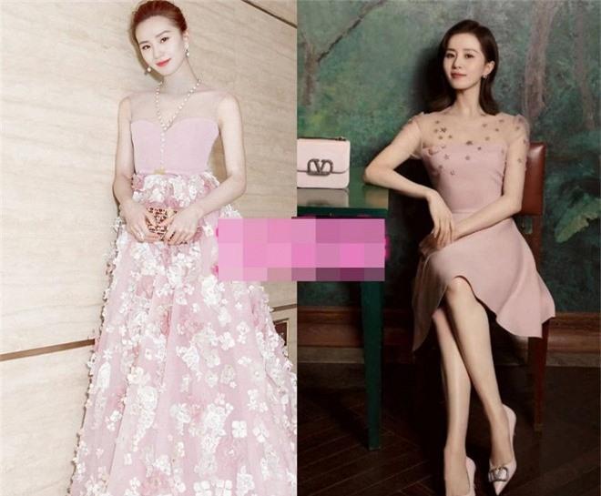 Loạt mỹ nhân Hoa ngữ 'chữa sến' cho váy hồng Ảnh 4