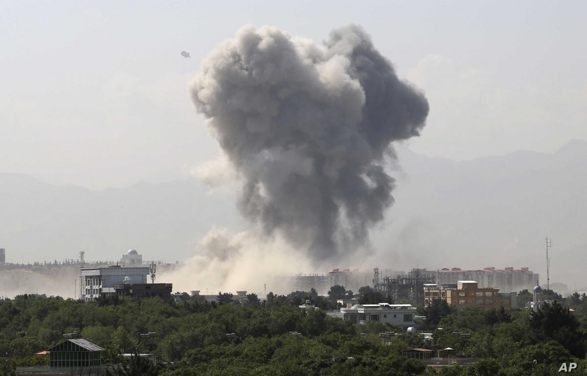 Hàng loạt vụ đánh bom tại Afghanistan, nhiều người thương vong Ảnh 1