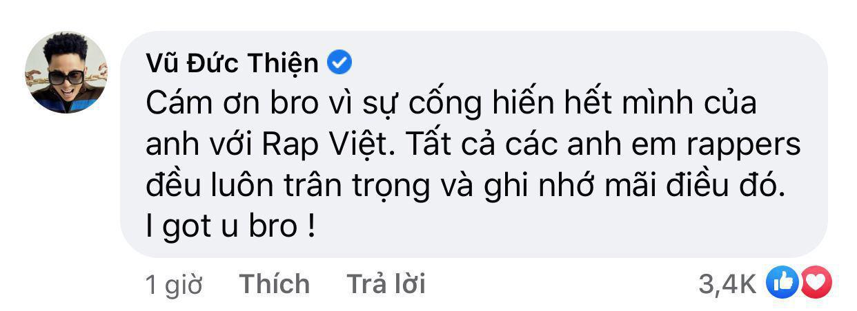 Binz, Rhymastic động viên Trấn Thành sau những ồn ào xoay quanh Rap Việt Ảnh 5
