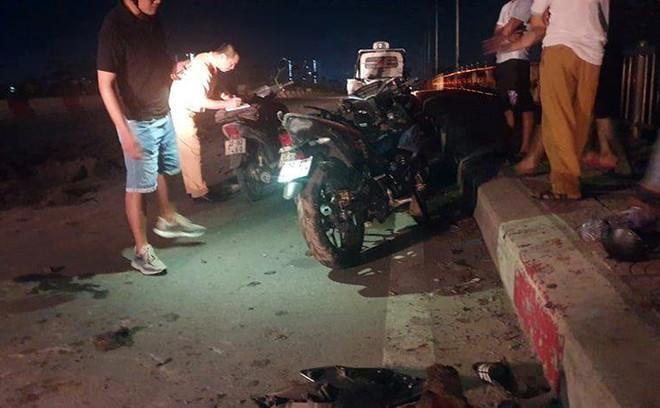 Xác minh xe đổ trộm chất thải gây tai nạn giao thông trên đường Cienco 5 Ảnh 1