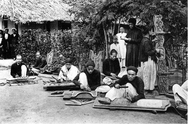 Ảnh chụp sinh hoạt của người Việt hơn 100 năm trước Ảnh 6
