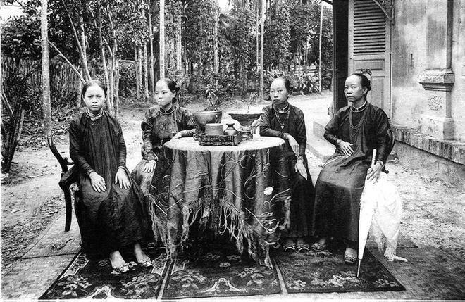 Ảnh chụp sinh hoạt của người Việt hơn 100 năm trước Ảnh 9