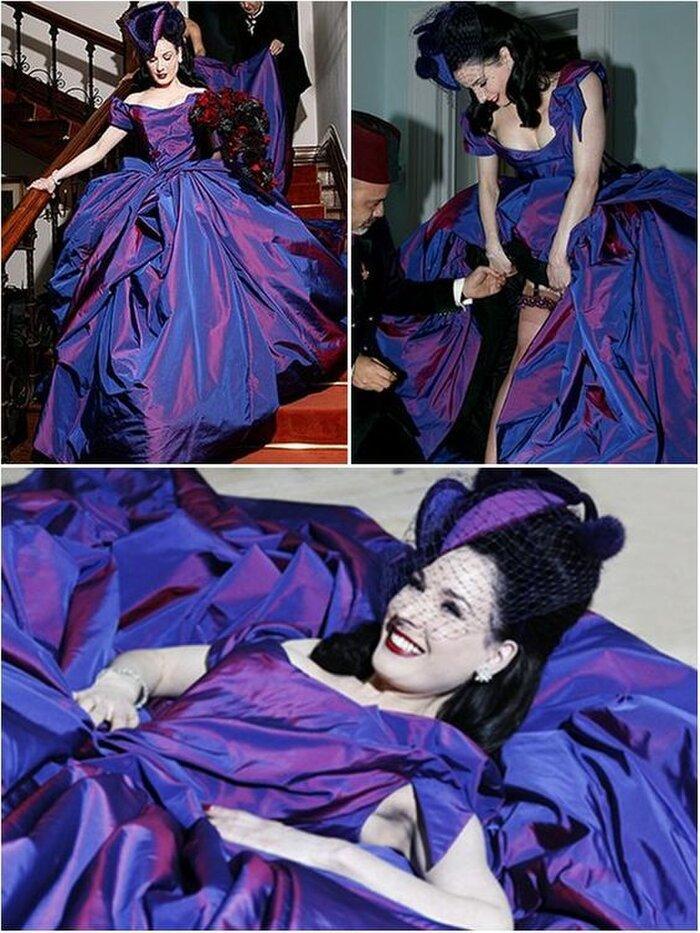 9 bộ váy cưới 'khác bọt' gây tốn giấy mực của người nổi tiếng Ảnh 2