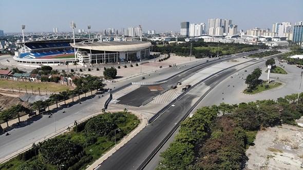 Hà Nội: Tháo dỡ 12 vị trí giao thông bất hợp lý quanh khu vực đường đua F1 Ảnh 1