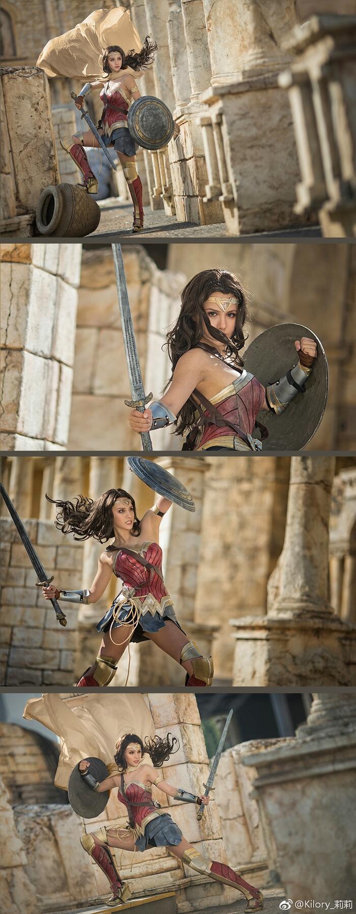 Cùng ngắm loạt ảnh cosplay xinh đẹp mà đầy khí chất về Wonder Woman Ảnh 4